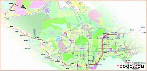 成都地铁七号线线路图高清 地铁14号线线路图 地铁14号线线路图图片 图片