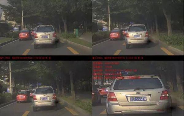 深圳车主占用公交车公交专用道违章记录已曝光