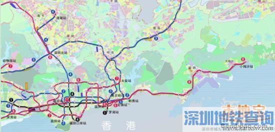 8号线2020年通车 东部地铁交通初步规划方案确定