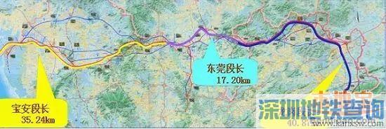 深圳外环高速东莞段已经动工 预计将于2019年完工