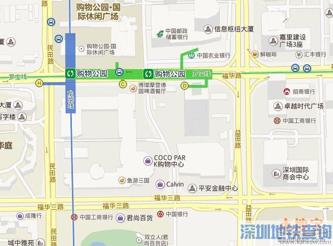 福田cocopark停车场攻略 短时间可停路边泊位