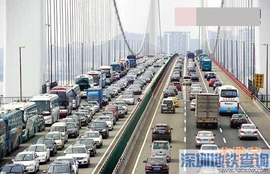 虎门大桥维修一个月 这么塞车怎么办