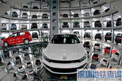 深圳将建9个立体停车场 提供4000辆公交车位