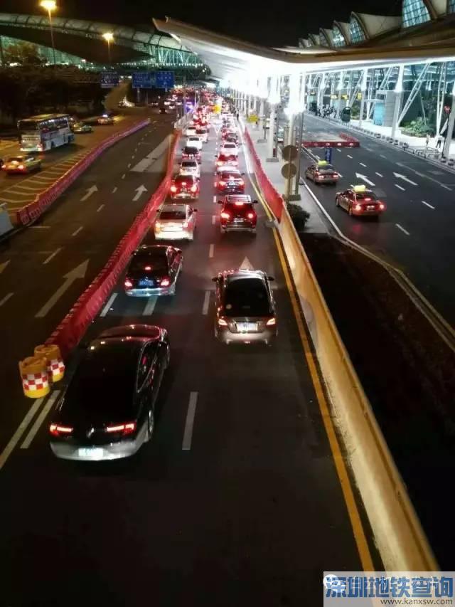 广州白云机场大巴、的士上客点变更  白云机场大巴出租车社会车道上客点一览