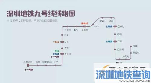 2016深圳地铁线路图最新高清