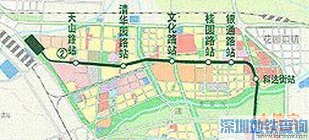 郑州地铁2号线二期线路走向