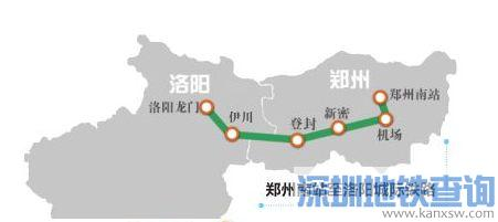 郑登洛城际铁路走向是怎样的