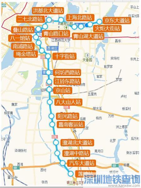 注意!南昌地铁3号线多个站点施工 这些路别乱走