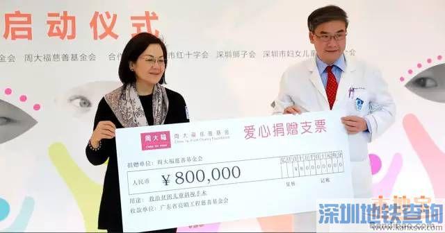 贫困斜视儿童可来深圳免费手术 名额100人