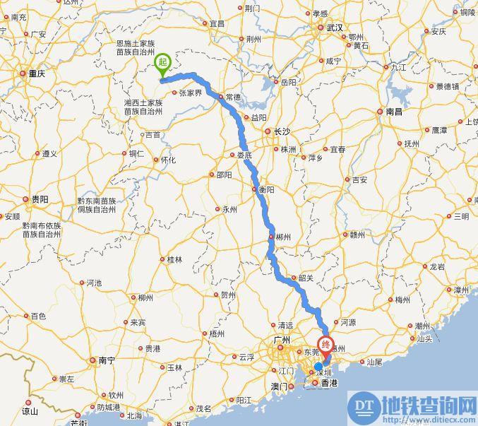 桑龙高速地图走向详情