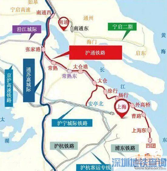 沪通铁路二期开工建设时间:有望2016年内动工