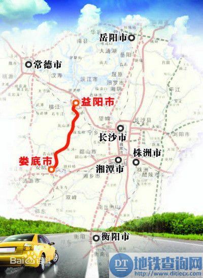 益娄高速宁乡段率先启动建设 速度领跑全线