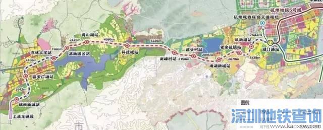 杭州城际铁路临安线、富阳、杭州至海宁等4条城际铁路最新进展