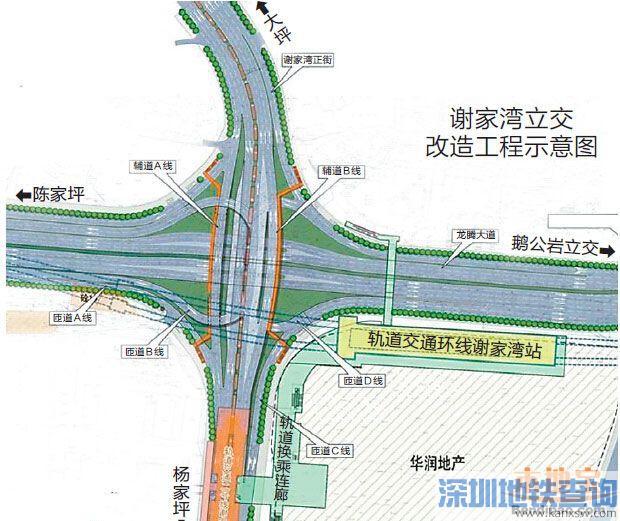 重庆杨家坪二环西北段月底通车  往后不用再绕行