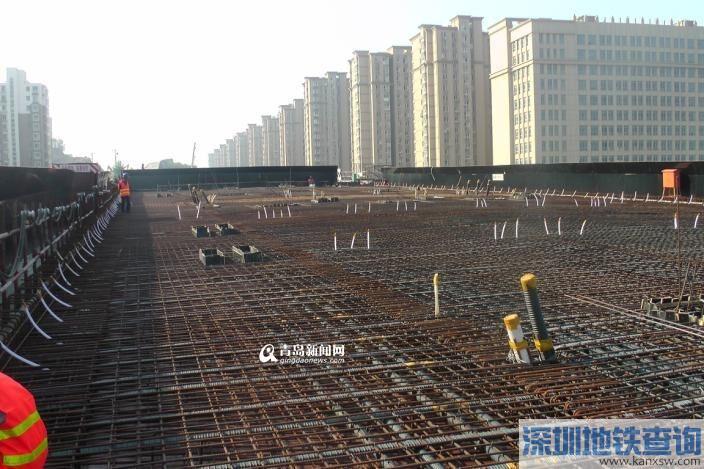 深圳路李沧段全线完工85% 年底主线通车