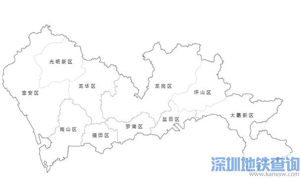 深圳龙华、坪山正式调整为行政区 龙华区坪山区行政地图包含哪些地方?