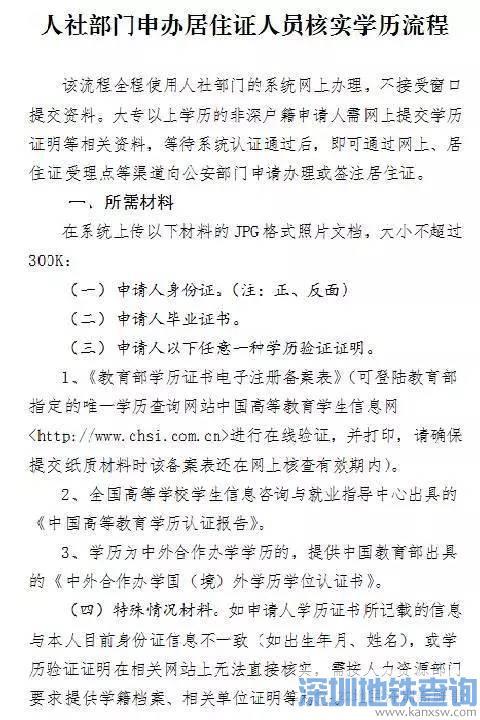 没有社保如何申请深圳居住证?分2种情况申请