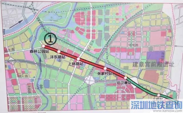 西安地铁2023年规划:18条线路最新规划图()