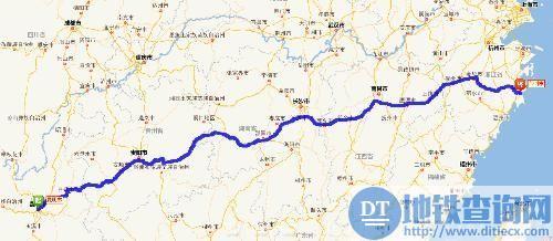 大岳高速公路地图走向详情