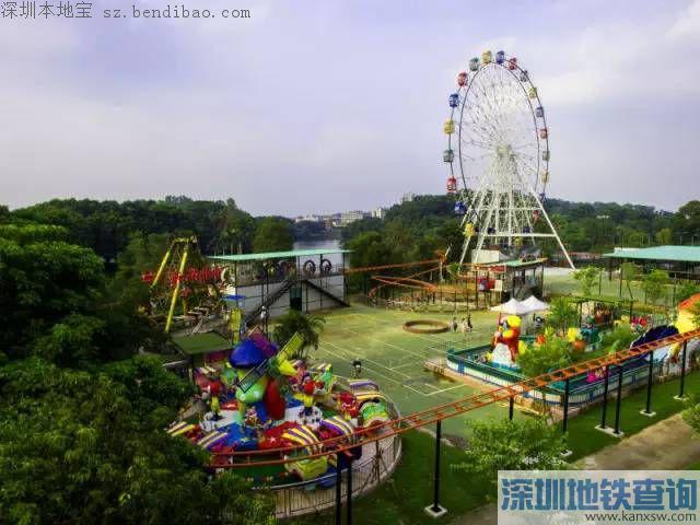 深圳观澜湖公园推优惠措施 11元=公园门票+摩天轮