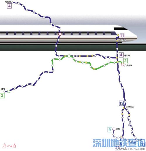 2017佛山将新建5条地铁 2017-2022年轨道建设规划一览