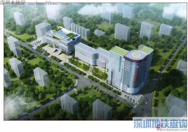 民医院二期规划全景图-深圳沙井人民医院是三甲医院吗 附深圳三甲