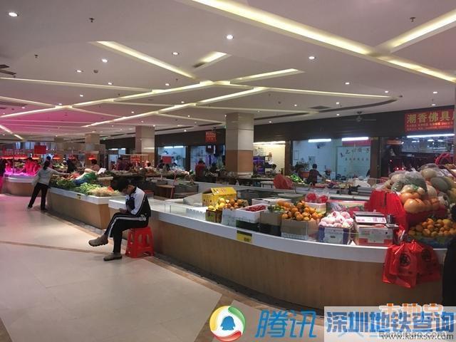 景田综合市场改造后营业 布吉农批市场变身后会如何?