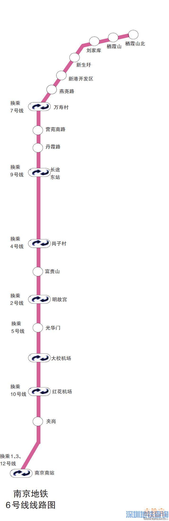 南京地铁6号线环评第一次公示全文内容