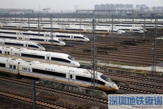 2017年1月5日铁路调图方案公布 上海铁路局新增11对列车