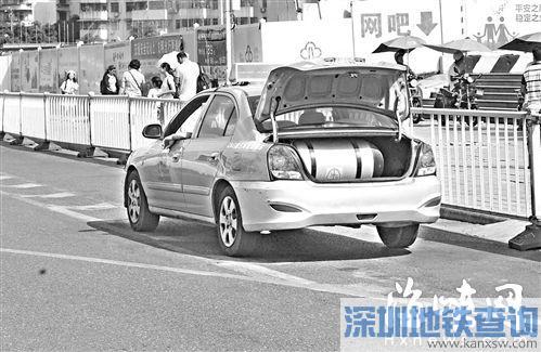 福州:掀后备厢掰车牌 故意遮挡号牌要扣12分罚二百