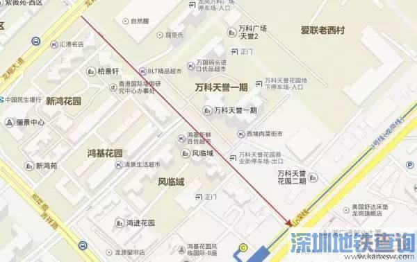 深圳车主请注意 深圳龙岗这些路段单向通行!