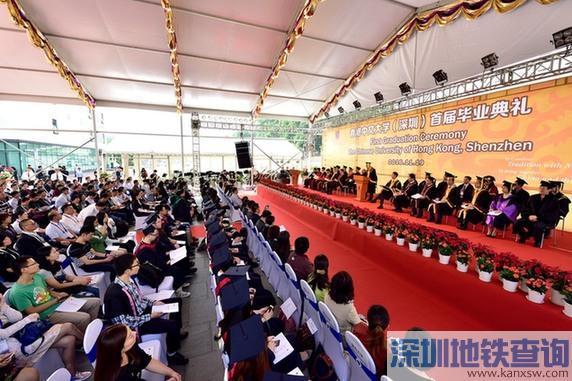 港中大(深圳)首届研究生获颁香港中文大学学位证书