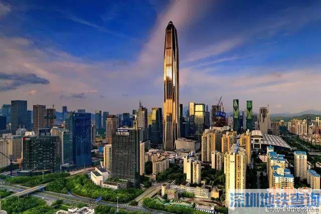 深圳第一高楼平安金融中心南塔封顶