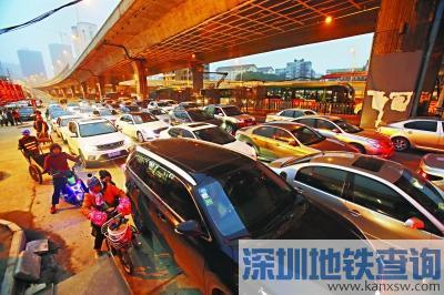 雄楚大道BRT通车在即 辅道人车混行通行面临考验
