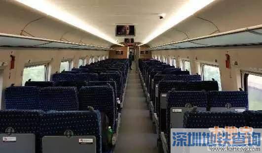 深圳昆明高铁二等座票价为554.5元 7小时直达
