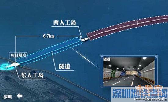 深中通道主体工程动工 最早2023年可实现通车