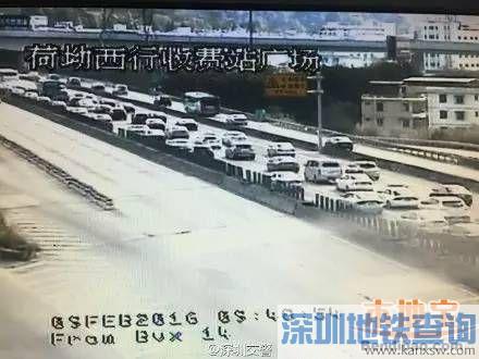 返深高峰到来 深圳交警告诉你如何避堵?