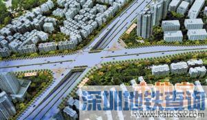 2016深圳春风隧道新秀立交将正式动工