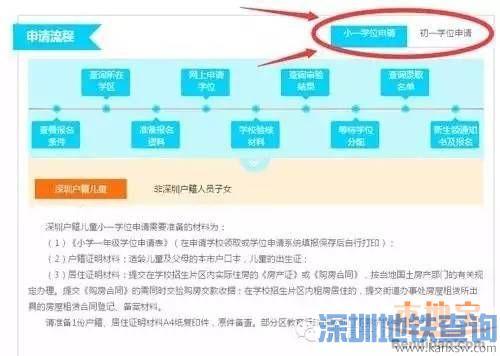 深圳免试就近入学 登录网站了解学位申请流程