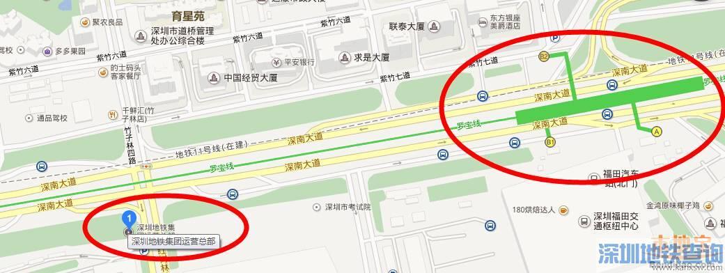 深圳地铁集团总部交通指南(地址+公交+地铁)