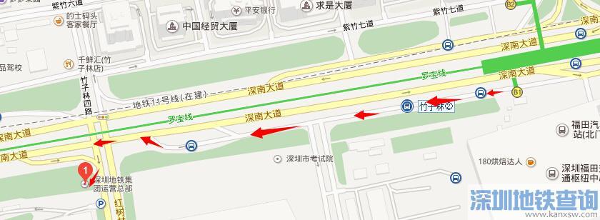 深圳地铁集团总部在哪里怎么去?(地址+公交+地铁交通指南)