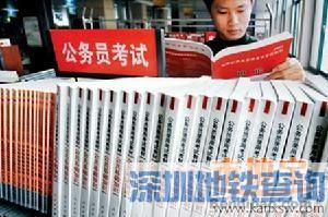 深圳2016年公务员笔试成绩公布 合格线统一划定为50分