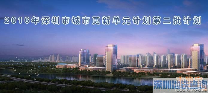 深圳城市更新单元计划出炉(2006年第二批)