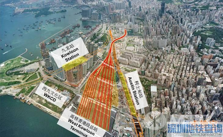 广深港高铁香港段或2018年通车 需再拨款196亿港元
