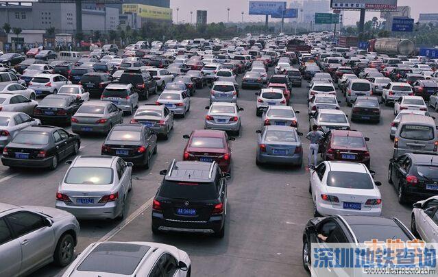 五一深圳哪里最堵?大数据预判东部最堵