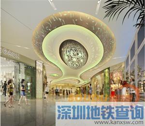 深圳龙华新区各大购物中心地址