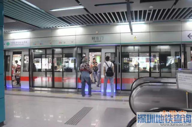 深圳最荒凉地铁站top5 偌大的地铁站竟没有人
