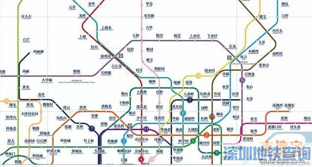 深圳地铁14号线站点线路延长到惠州南站 深圳惠州首条跨市地铁图片
