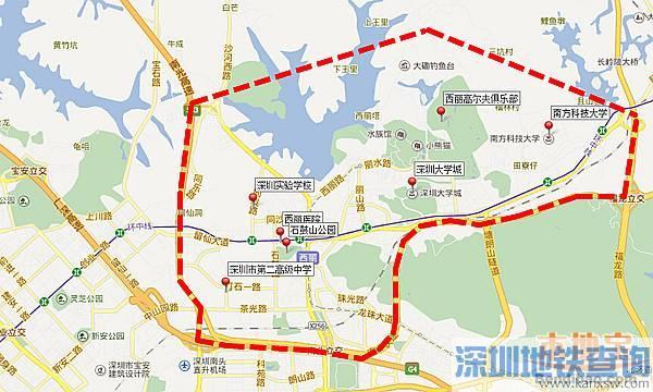 深圳南山西丽将建高铁站 深圳将迎来第5个高铁站