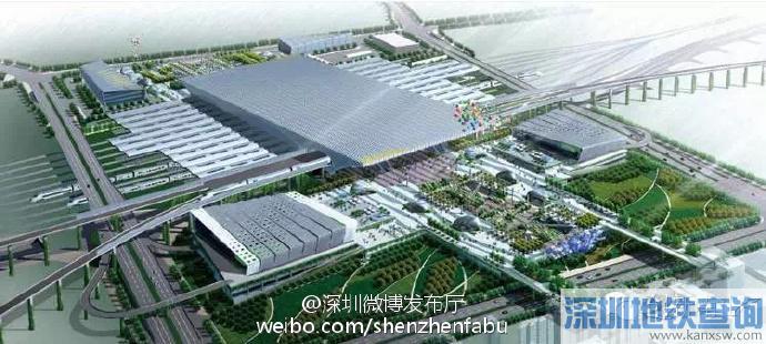 深圳将迎来第5个高铁站西丽高铁站 深圳高铁站位置在哪里?